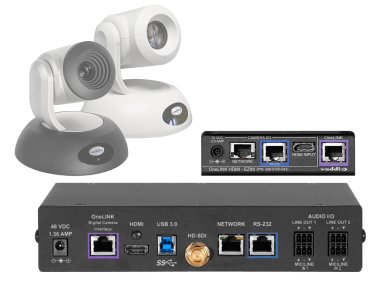Polycom Codec Kit for OneLINK Bridge to RoboSHOT HDMI Cameras