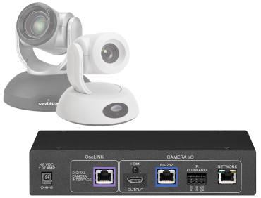 Polycom Codec Kit for OneLINK HDMI to Vaddio HDBaseT Cameras