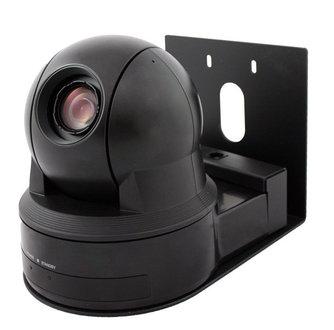 Thin Profile Wall Mount Bracket for Sony EVI-D80/EVI-D90 (Black)