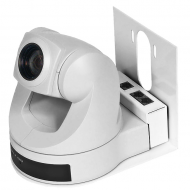 Thin Profile Wall Mount Bracket for Sony EVI-D70 - White